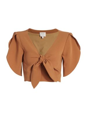 Miriam Bow Cropped Top