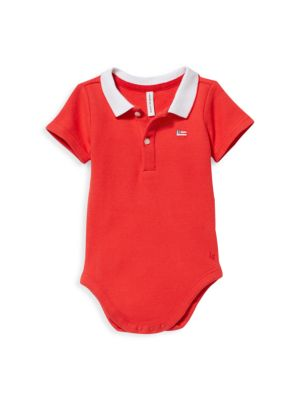 Baby Boy's Polo Jumpsuit