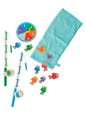 10-Piece Catch & Count Fishing Game