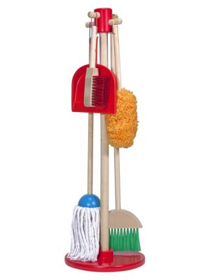 6-Piece Let's Play House! Dust, Sweep & Mop