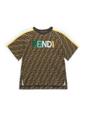 Little Kid's & Kid's Allover Logo T-Shirt