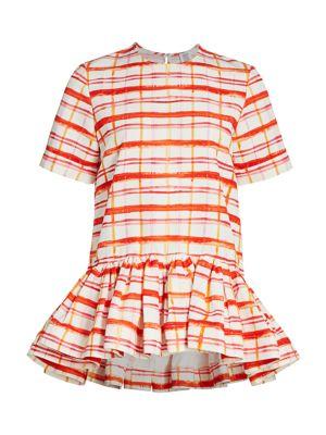 Drop Waist Peplum T-Shirt