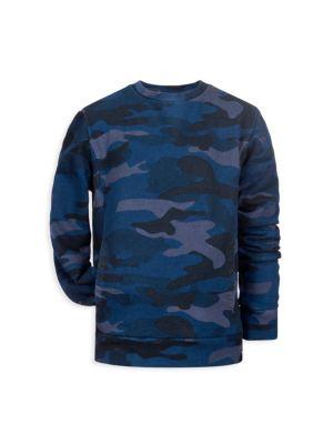 Little Boy's & Boy's Camouflage Long-Sleeve T-Shirt
