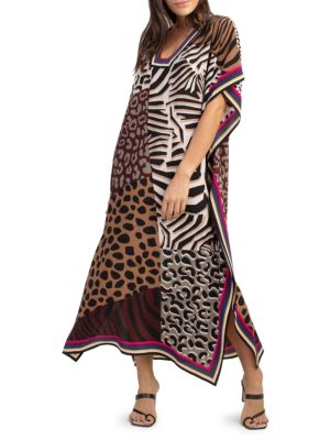 Theodora Printed Midi Dress