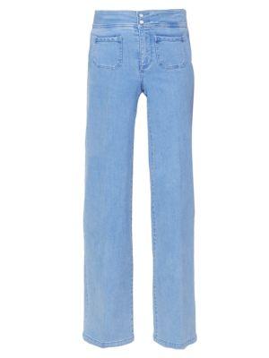 Teresa High-Rise Wide Jeans