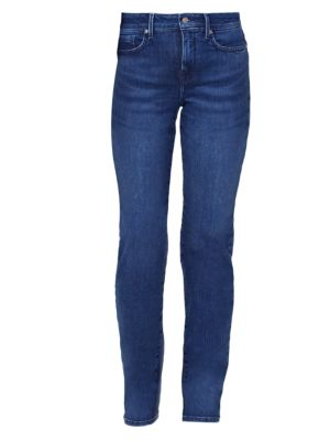 Marilyn High-Rise Straight Jeans