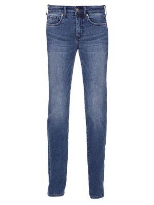 Marilyn Mid-Rise Straight Leg Jeans