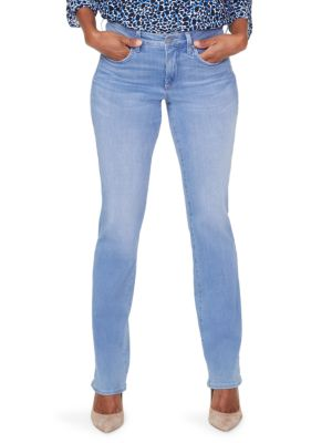 Marilyn Mid-Rise Straight Leg Jeans