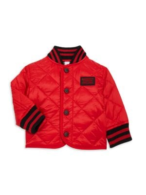 Baby's & Little Boy's Mini Delaney Quilted Jacket