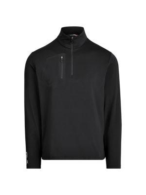 Stretch Quarter-Zip Pullover