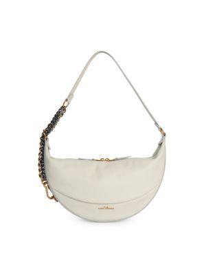 Mini The Eclipse Leather Saddle Bag