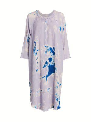 Poet Tie-Dye Shift Dress