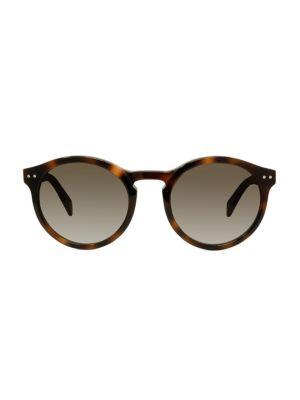 52MM Round Sunglasses
