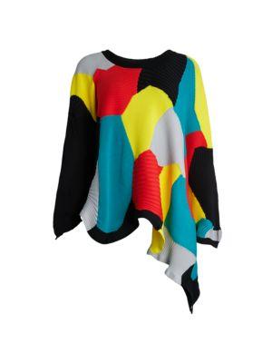 Kone Asymmetric Knit Sweater