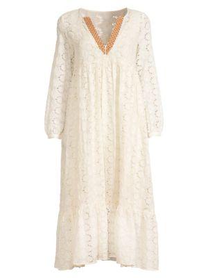 Gara Embroidered Maxi Dress
