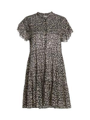 Lanikaye Floral A-Line Shirtdress