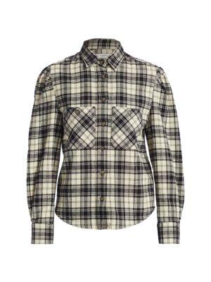 Falco Plaid Wool-Blend Shirt