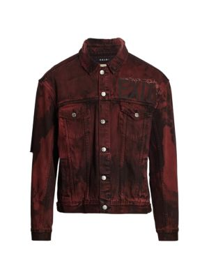 Oh G Super Nature Distressed Denim Jacket