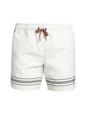 Martin Striped Drawstring Shorts