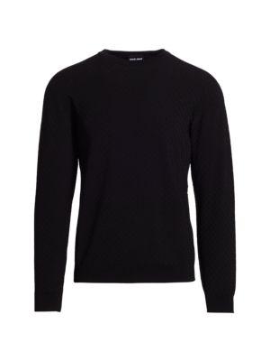 Tonal Pattern Sweater
