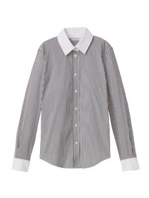 Davitt Centennial Stripe Shirt