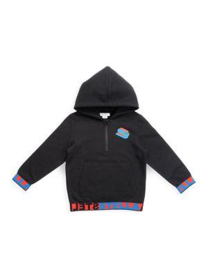 Little Boy's & Boy's Half-Zip Hoodie