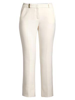 Ponte Cropped Pants