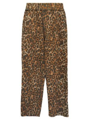 Clarence Leopard Relaxed Track Pants