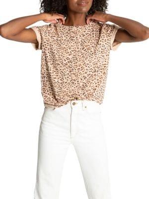 Jigsaw Bff Leopard T-Shirt
