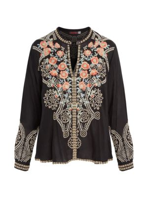Alani Floral Embroidered Blouse