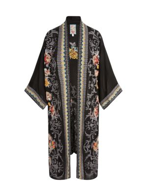 Mayflower Embroidered Kimono