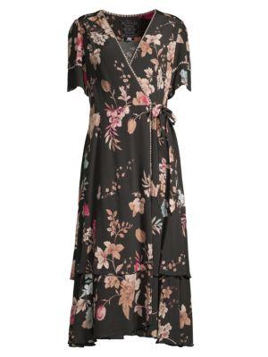 Placitas Midi Wrap Dress