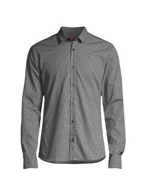 Extra-Slim Fit Ero3 Logo-Print Shirt