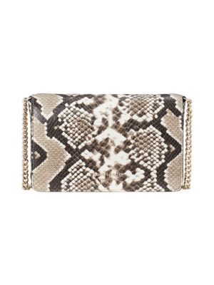 Spencer Python-Embossed Wallet-On-Chain