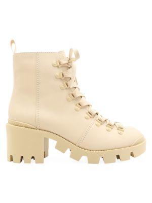 Xayane Lug-Sole Leather Combat Boots