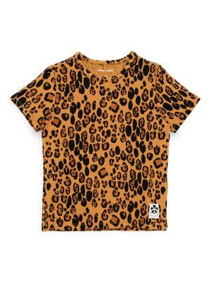 Little Girl's & Girl's Leopard-Print T-Shirt
