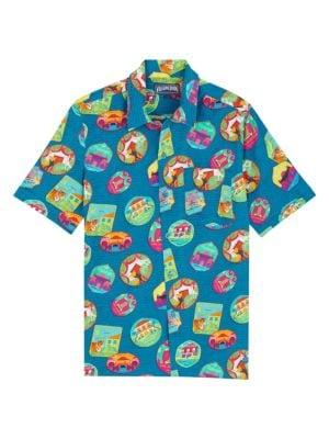 Charli Indian Resorts Short-Sleeve Shirt