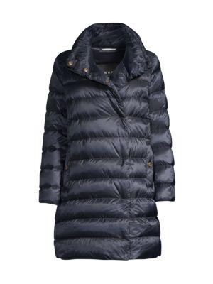 Trine Reversible Longline Puffer Jacket