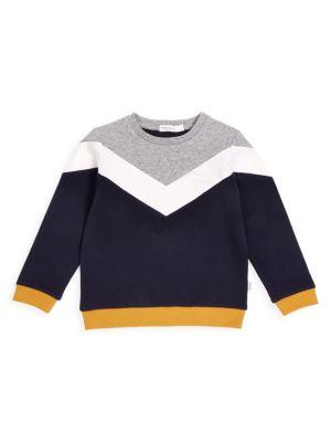 Little Boy's & Boy's Colorblock Sweatshirt