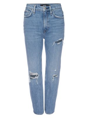 Holly High-Rise Cropped Bootcut Jeans