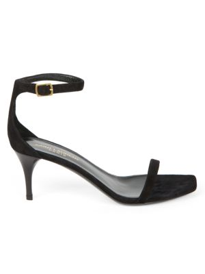 Lexi Ankle-Strap Suede Sandals
