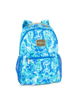 Seaglass Printed Backpack