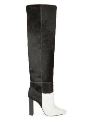 Soixante Seize Tall Calf Hair Boots