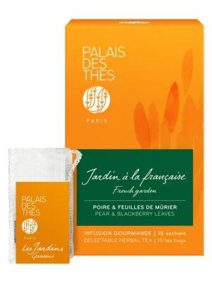 French Garden Pear & Blackberry Leaves Delectable Herbal Tea