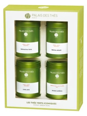 Iconic Green Teas 4-Piece Miniature Can Set