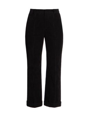 Cropped Cord Pants