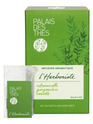 L'Herboriste No.95 Lemongrass, Ginger & Carrot Herbal Tea
