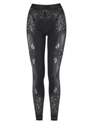 Om Paisley Lace Leggings