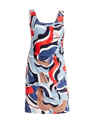 Americana Sleeveless Sheath Dress