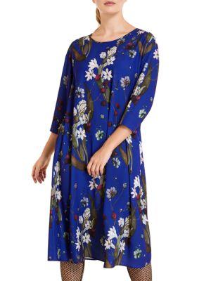 Danubio Cady Printed Dress